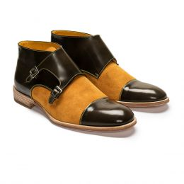 '48 by Lachlan Monk Strap Boots
