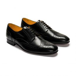 '31 Derby Brogue Black