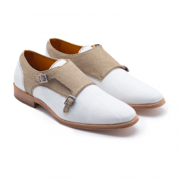 '48 Wedding On The Beach, Monk Strap Shoes